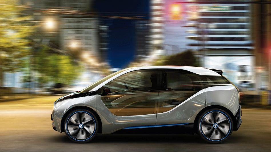 BMW i3: Der Autobauer lässt sich die Entwicklung von Elektroautos viel Geld kosten.