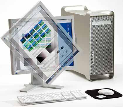 Ergonomische Modelle zahlen sich aus: Wer viel am Rechner arbeitet, sollte darauf achten, dass die Display-Oberfläche nicht spiegelt und sich die Anzeige in Höhe und Neigung verstellen lässt