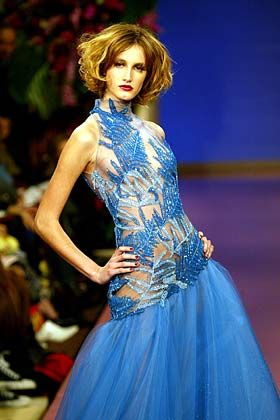 Schuss ins Blaue: Kleid von Torrente