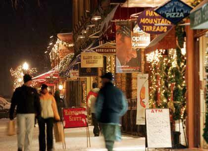 Ski fahren und Shoppen: Die Ladenbesitzer jubelten über großartige Geschäfte während der Feiertage