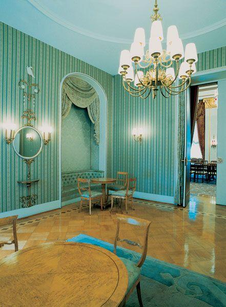 Der Zar lässt grüßen: Salon in der russischen Botschaft