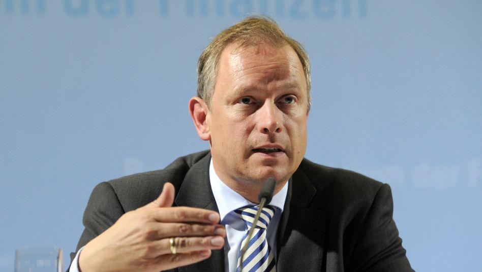 Erklärt viel, möglicherweise aber die falschen Sachen: Sparkassen-Verbandspräsident Georg Fahrenschon.
