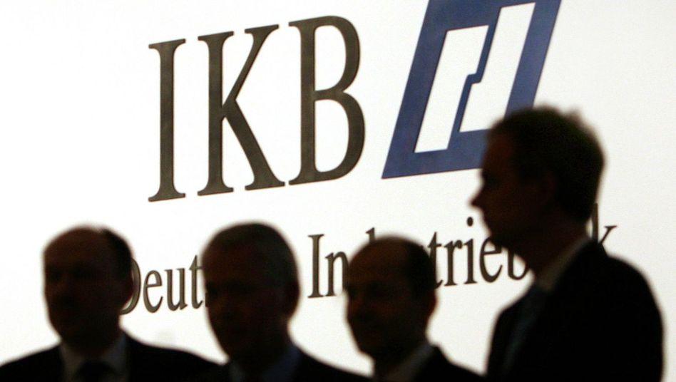 Die IKB kann die Folgen der Finanzkrise nur mühsam abschütteln
