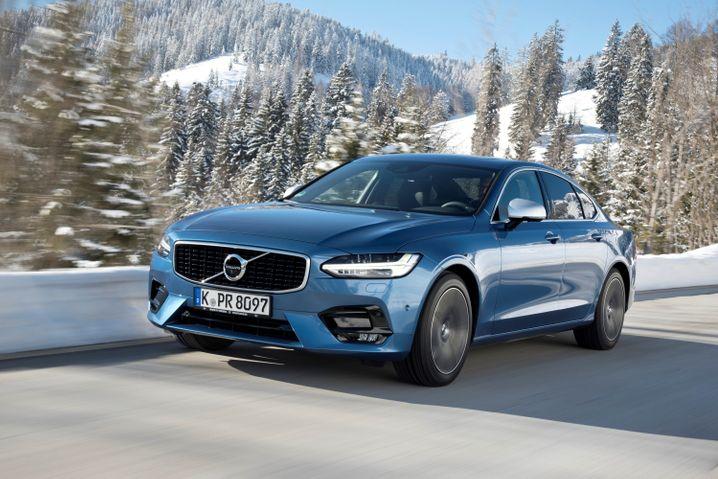 Luxusauto: Für seinen S90 verlangt Volvo mindestens 41.500 Euro