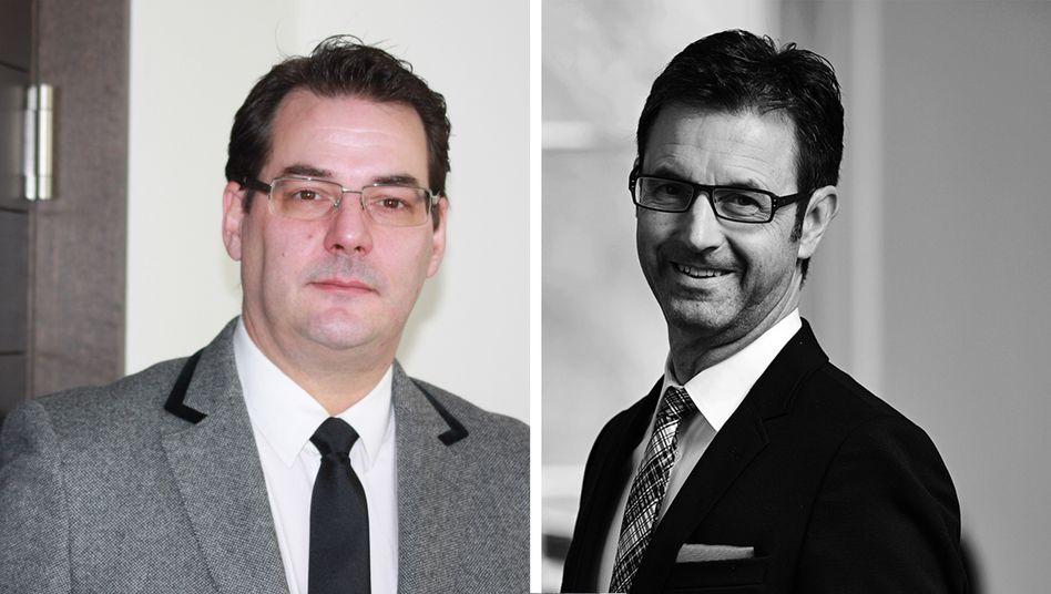 Neue Geschäftsführer in Wölbern-Immobilienfonds: Heiner Albersmeier (l.) und Kurt Schori