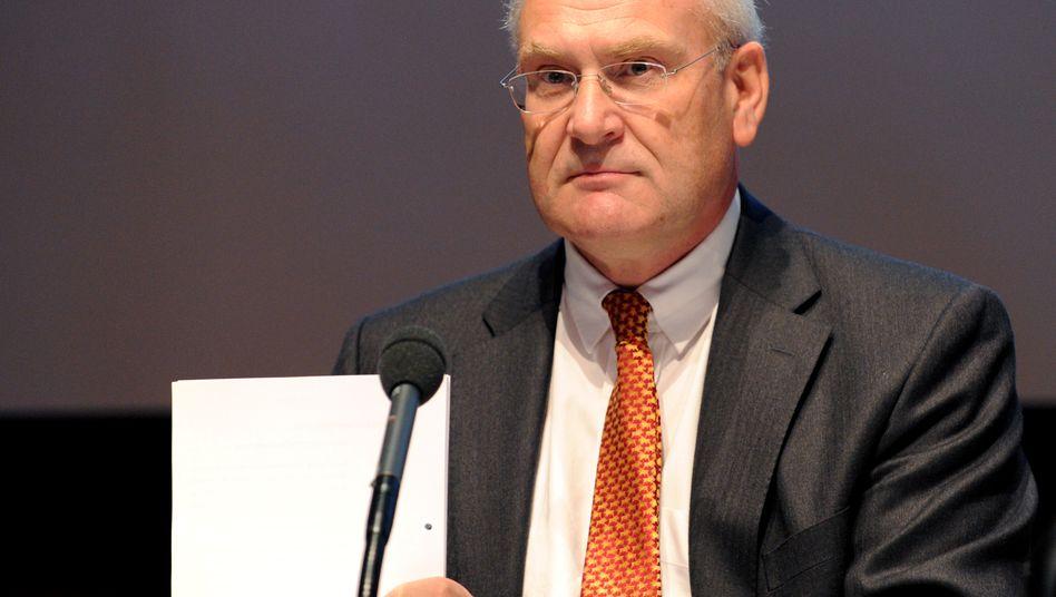 Kann wieder befreit aufspielen: Dieter Ammer, hier auf der Hauptversammlung der Conergy AG im Jahre 2010.