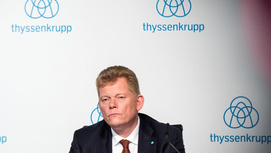 Kaum Chancen, langfristig Thyssenkrupp-Chef zu bleiben: Guido Kerkhoff