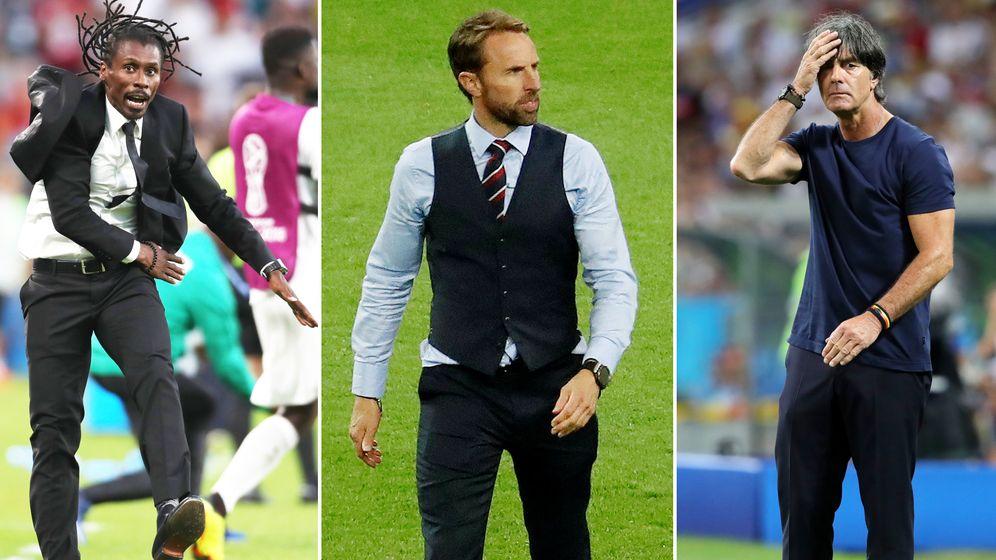 Modekritik: So stilsicher sind die Trainer der WM-Mannschaften