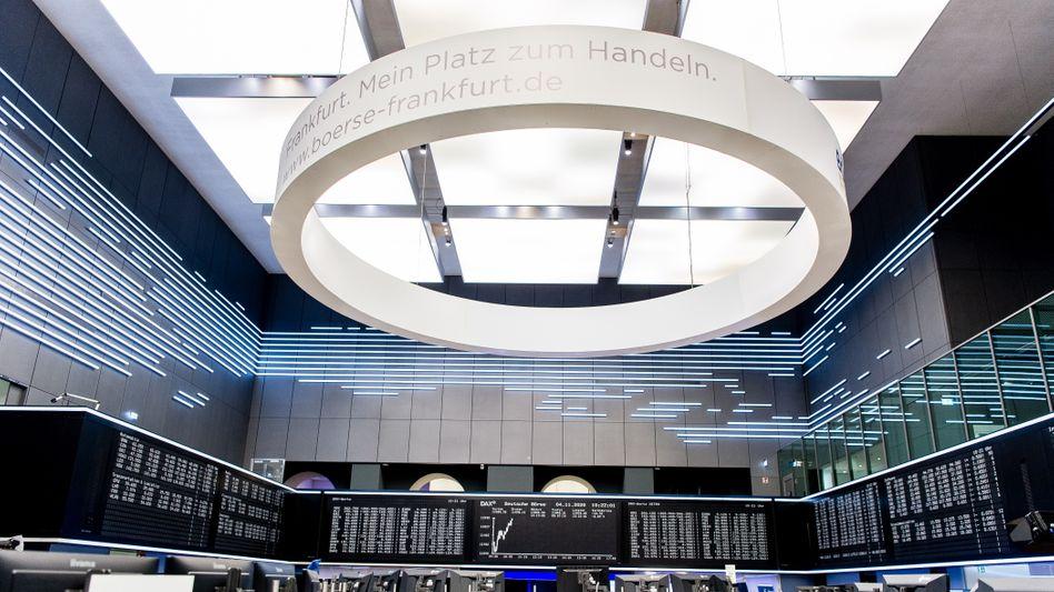 Deutsche Börse in Frankfurt am Main: Die Anleger fürchten eine Ausbreitung der Delta-Variante