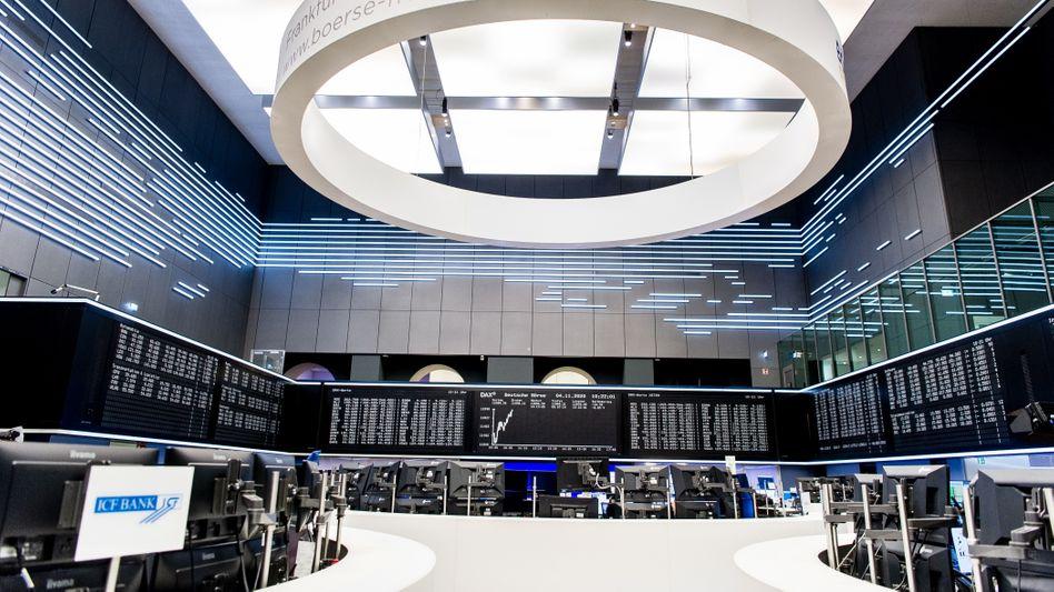 Deutsche Börse in Frankfurt am Main: Der Dax setzt seine Erholung fort