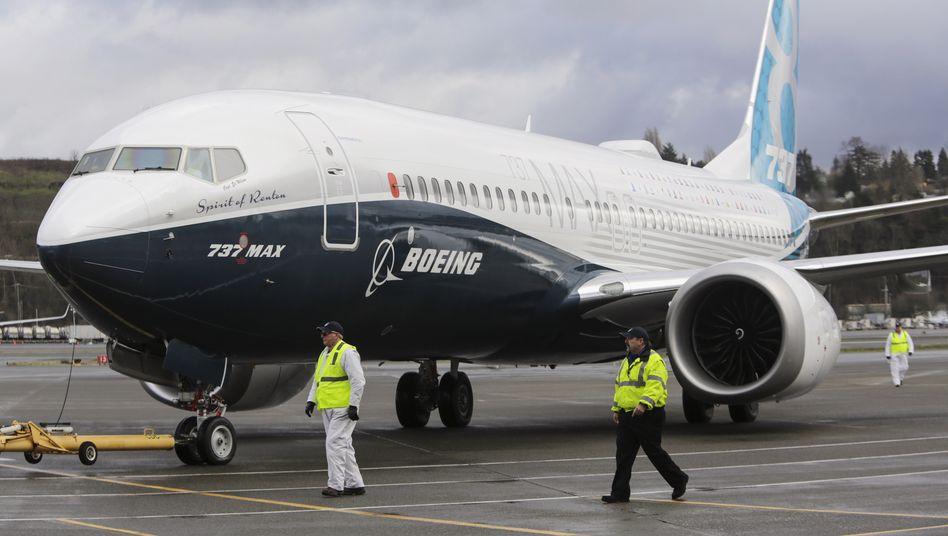 Boeing 737 Max: Der erste Auslieferungstermin wurde knapp gehalten. In der Branche sind jahrelange Verspätungen an der Tagesordnung.