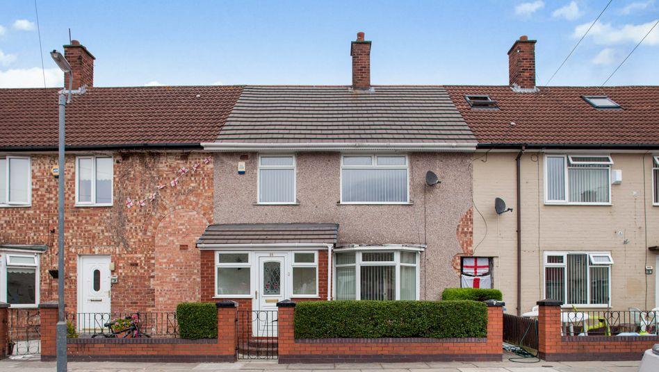 Zuschlag bei 200.000 Euro: Das Haus in Liverpool, in dem Ex-Beatle George Harrison aufwuchs