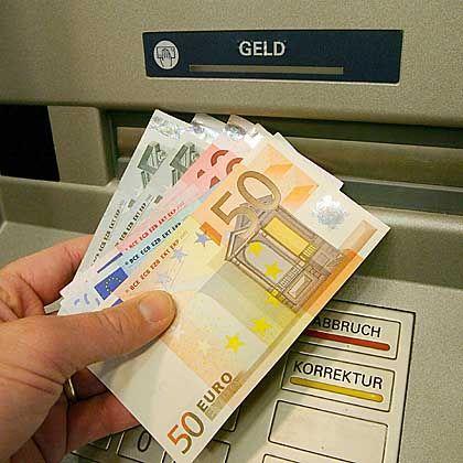 Geldautomaten: Nicht für jeden leicht zu bedienen