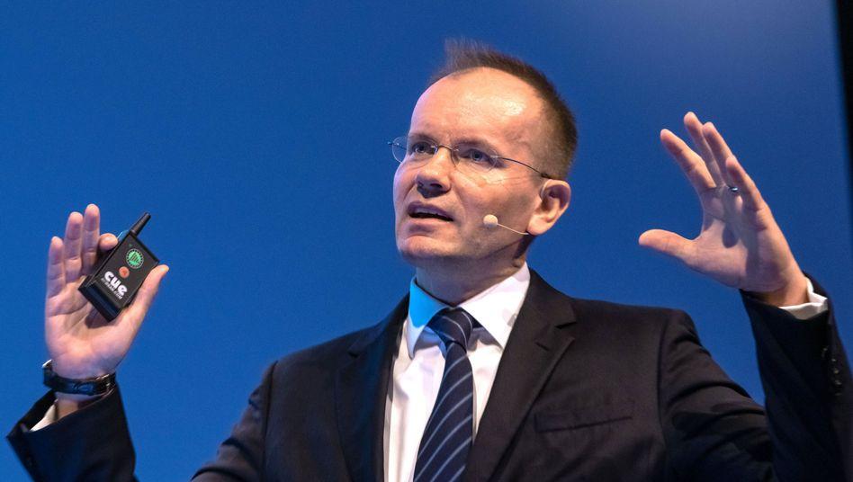 Muss Macht zum Teil abgeben: Wirecard-Chef Braun wird seit Langem kritisiert.