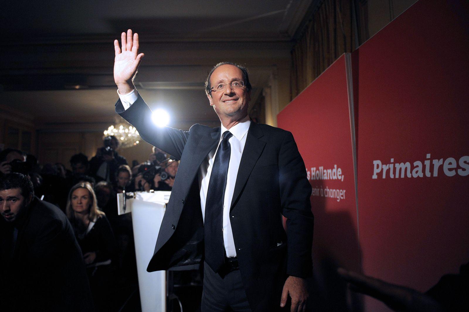FRANCE2012-ELECTIONS-PS-HOLLANDE François Hollande