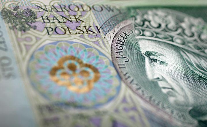 Polnischer Zloty-Schein