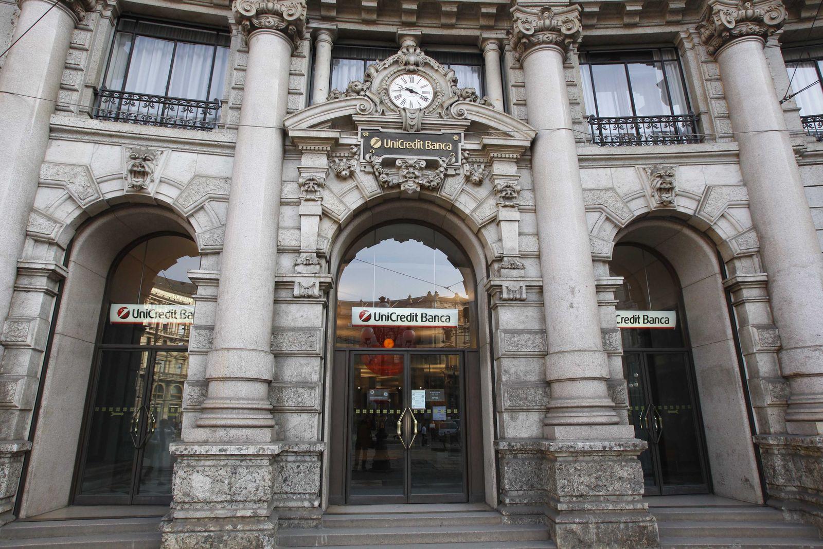 Italien Unicredit Zentrale Mailand