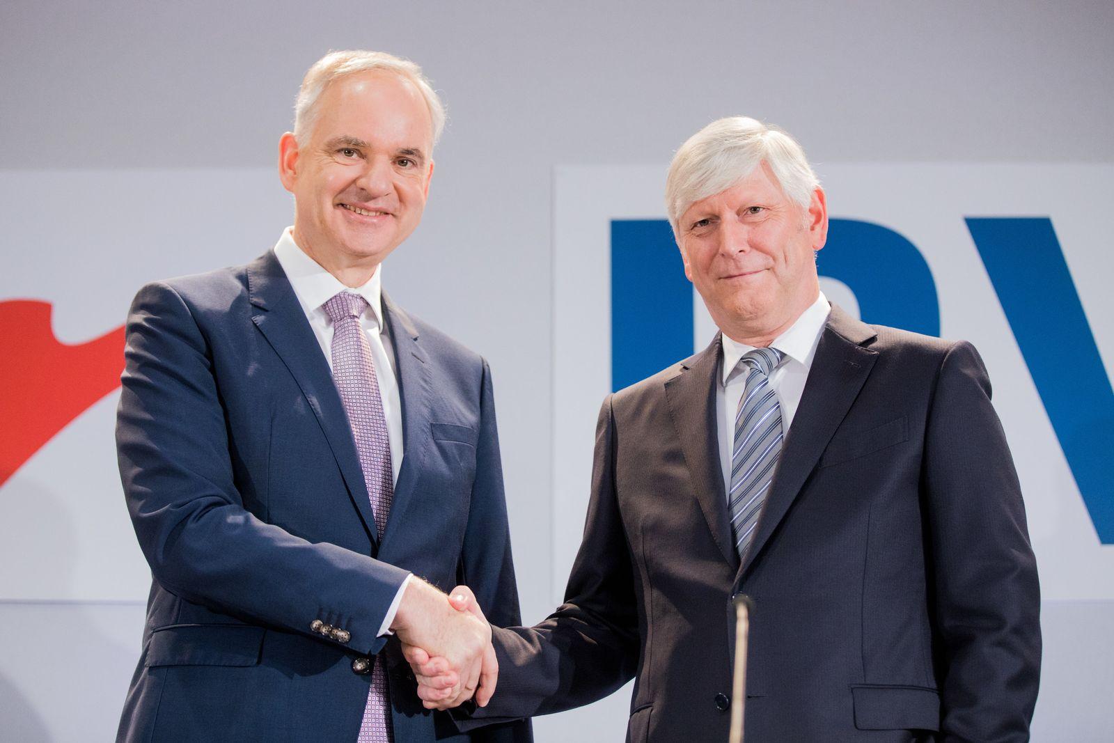 Pressekonferenz von RWE und E.ON