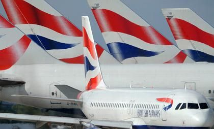 Einen Gang zurückgeschaltet: British Airways beförderte zuletzt weniger Passagiere und Fracht