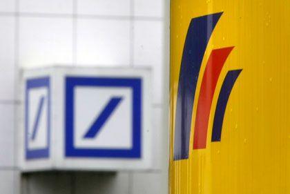 Neuer Großaktionär: Die schrittweise Übernahme der Postbank führt dazu, dass die Deutsche Post zeitweise zum größten Aktionär der Deutschen Bank aufsteigt