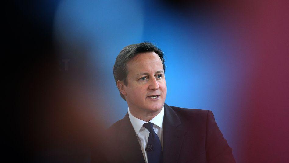 """Premierminister Cameron: """"Wir wollen wachsam sein"""""""