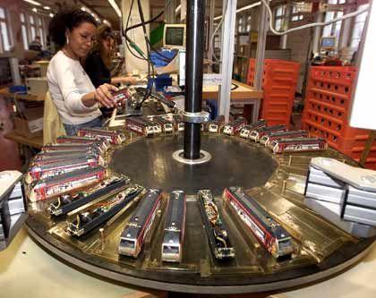 Fast vollendet: Elektrolokomotiven der Serie Swiss Collection
