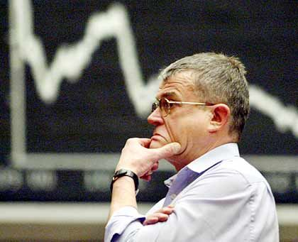 Mit Skepsis blicken Händler dem Handelstag am Mittwoch entgegen