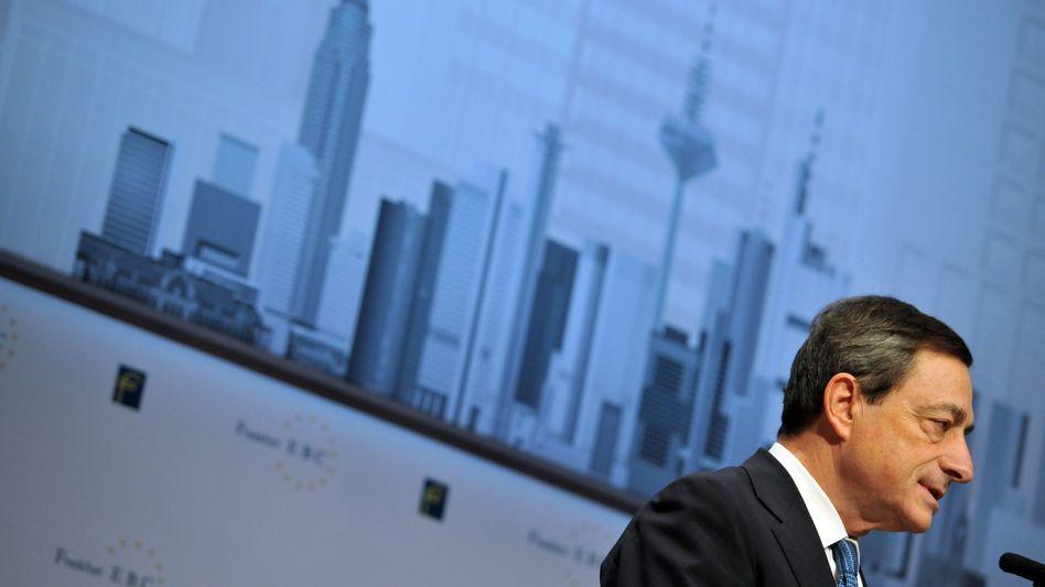 EZB-Präsident Mario Draghi: Will Europas Notenbank nicht permanent zur Krisenbekämpfung ausrücken lassen