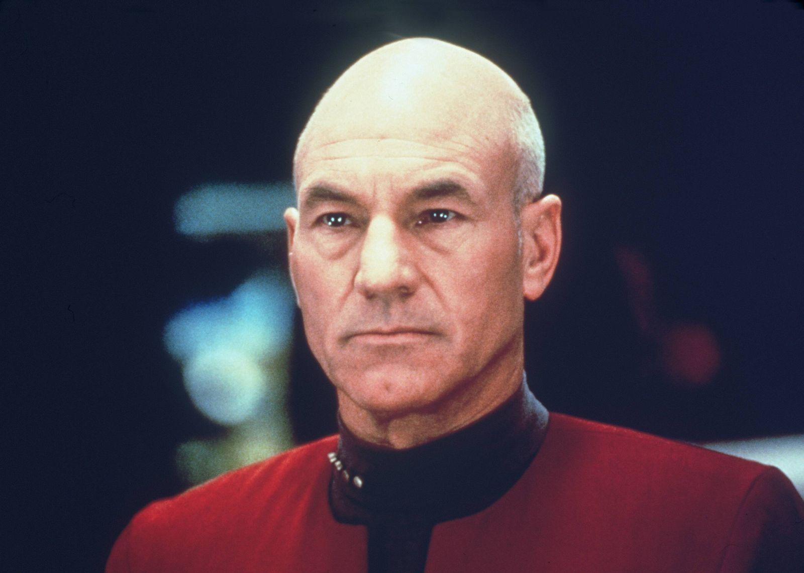 EINMALIGE VERWENDUNG Star Trek/ Captain Jean-Luc Picard (Patrick Stewart)