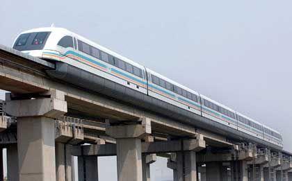 Transrapid (in Shanghai): Bald auch von London nach Glasgow?