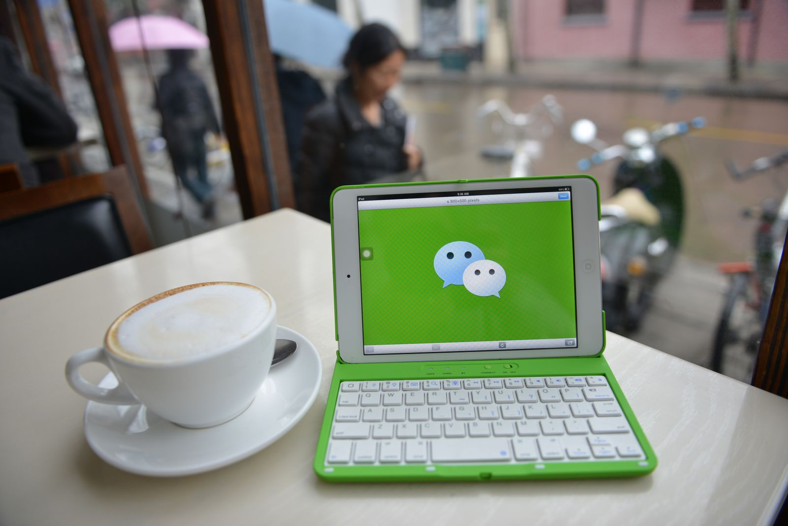 WeChat / Laptop
