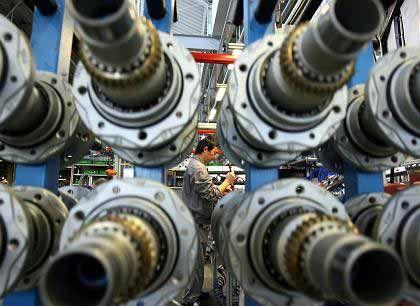 Rosige Aussichten: Mehr als drei Viertel der deutschen Maschinenbauer wollen ihre Betriebe ausbauen