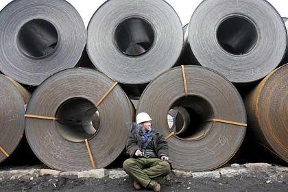 Stahl für China: Die einheimischen Werke können der schnell wachsenden Nachfrage nicht nachkommen