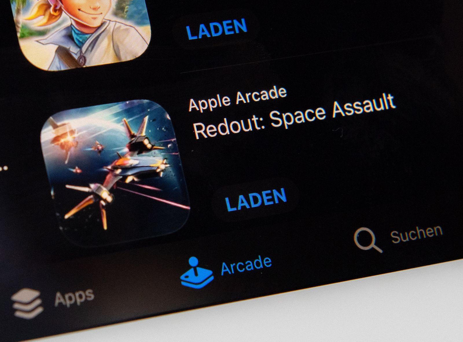 EINMALIGE VERWENDUNG Spielen zum Festpreis - Apples Spieledienst Arcade im Test