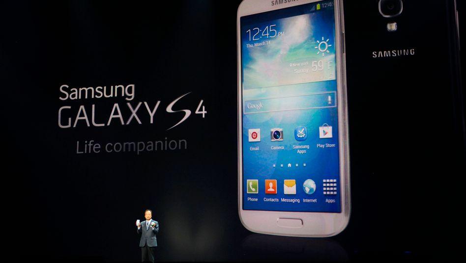 Samsungs Galaxy S4: Teure Smartphones sind vor allem in China weniger gefragt
