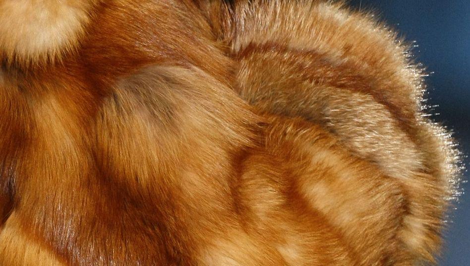 Model mit Pelz: Schön und verboten