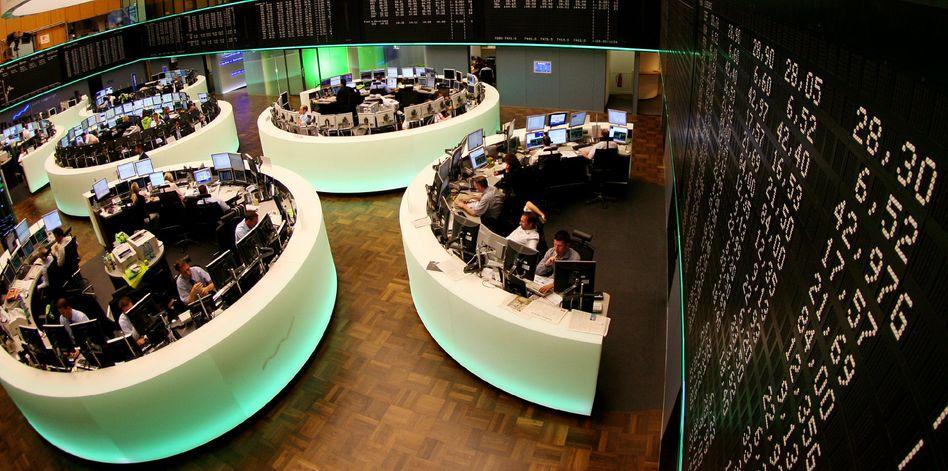 Schwacher Wochenauftakt: Bankentitel unter Druck