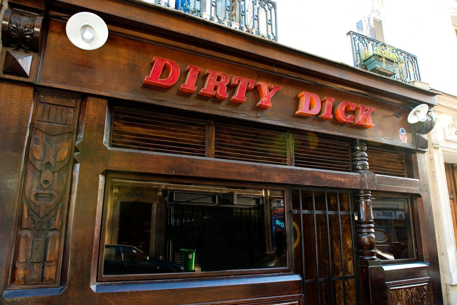 EINMALIGE VERWENDUNG The Dirty Dick bar