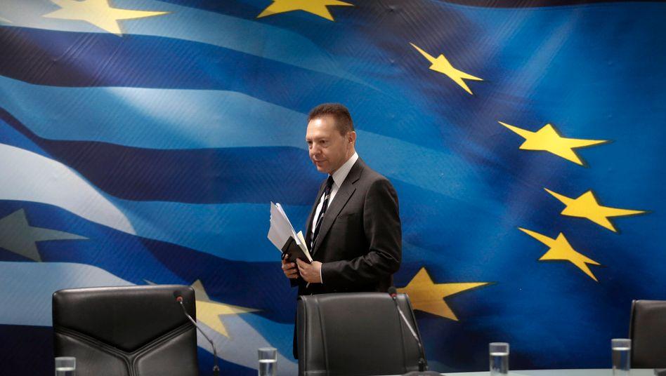 Unter Erfolgsdruck: Der griechische Finanzminister Yannis Stournaras