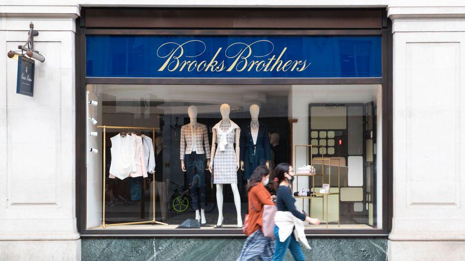 Kleidete dutzende US-Präsidenten und -Magnaten ein: Brooks Brothers (hier eine Filiale auf der Londoner Regent Street)