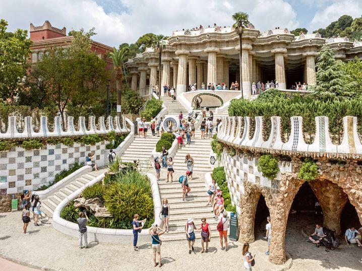 """Selfietime in Barcelona: Das Gewerbe """"Reise"""" durchlebt die digitale Revolution."""