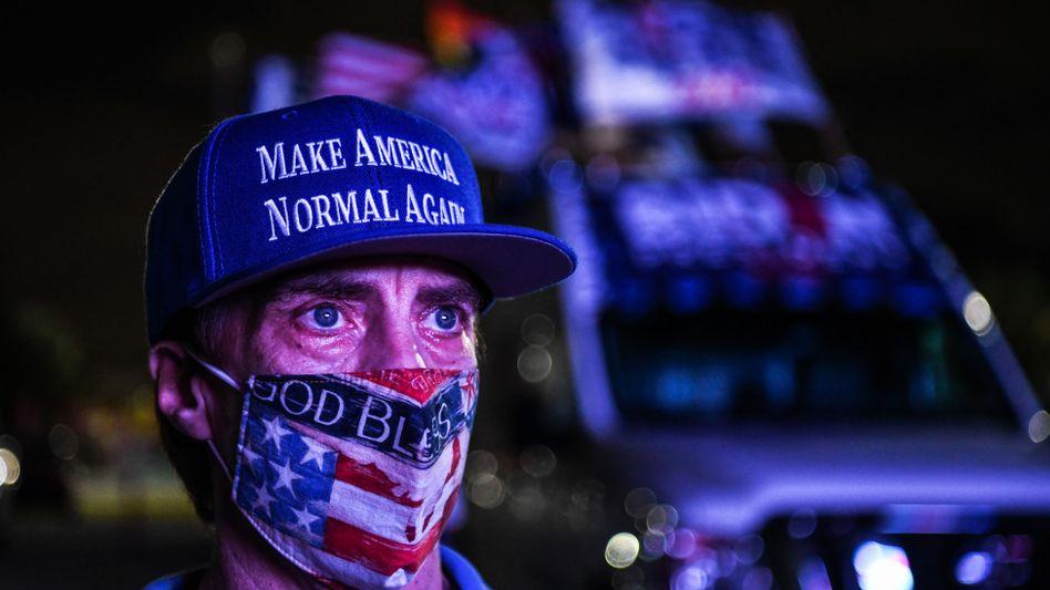 Hoffen auf Besserung: Auch zum Ablauf seiner Amtszeit lässt Trump keinen Unsinn aus