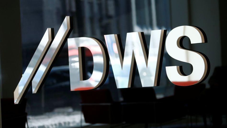 DWS-Logo in Frankfurt