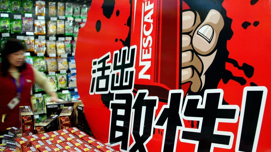 Nestlé-Verkauf in China: Die Schwellenländer treiben den Umsatz des Lebensmittelgiganten an