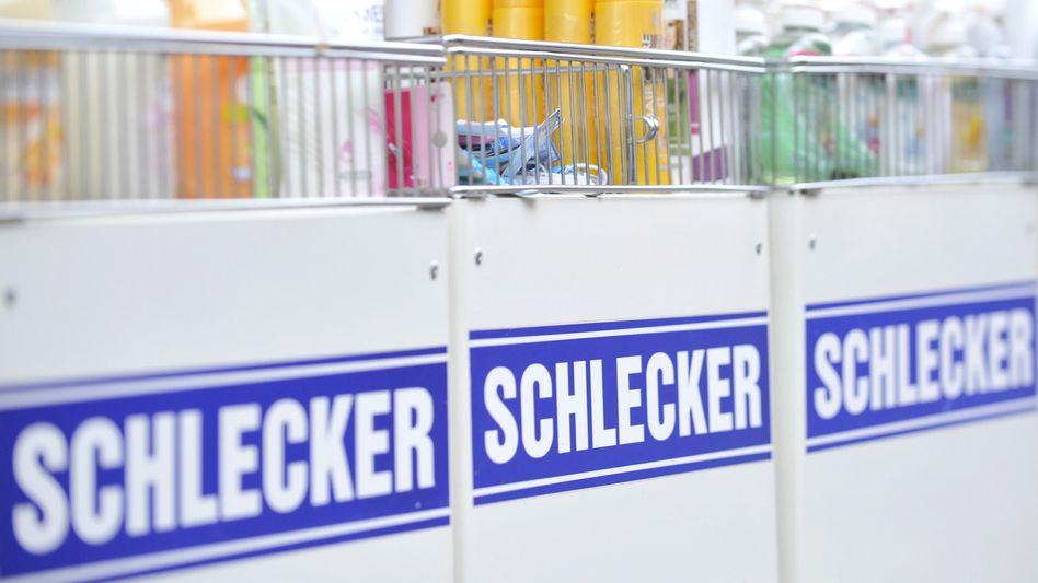 Schlecker-Filiale: Neue und renovierte Filialen laufen Unternehmensangaben zufolge hervorragend
