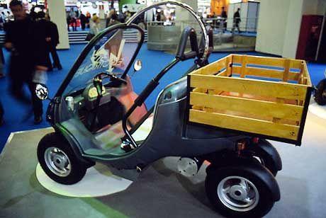 Grosse Ladung für kleinen Laster: der Secma Fun Tech Capote