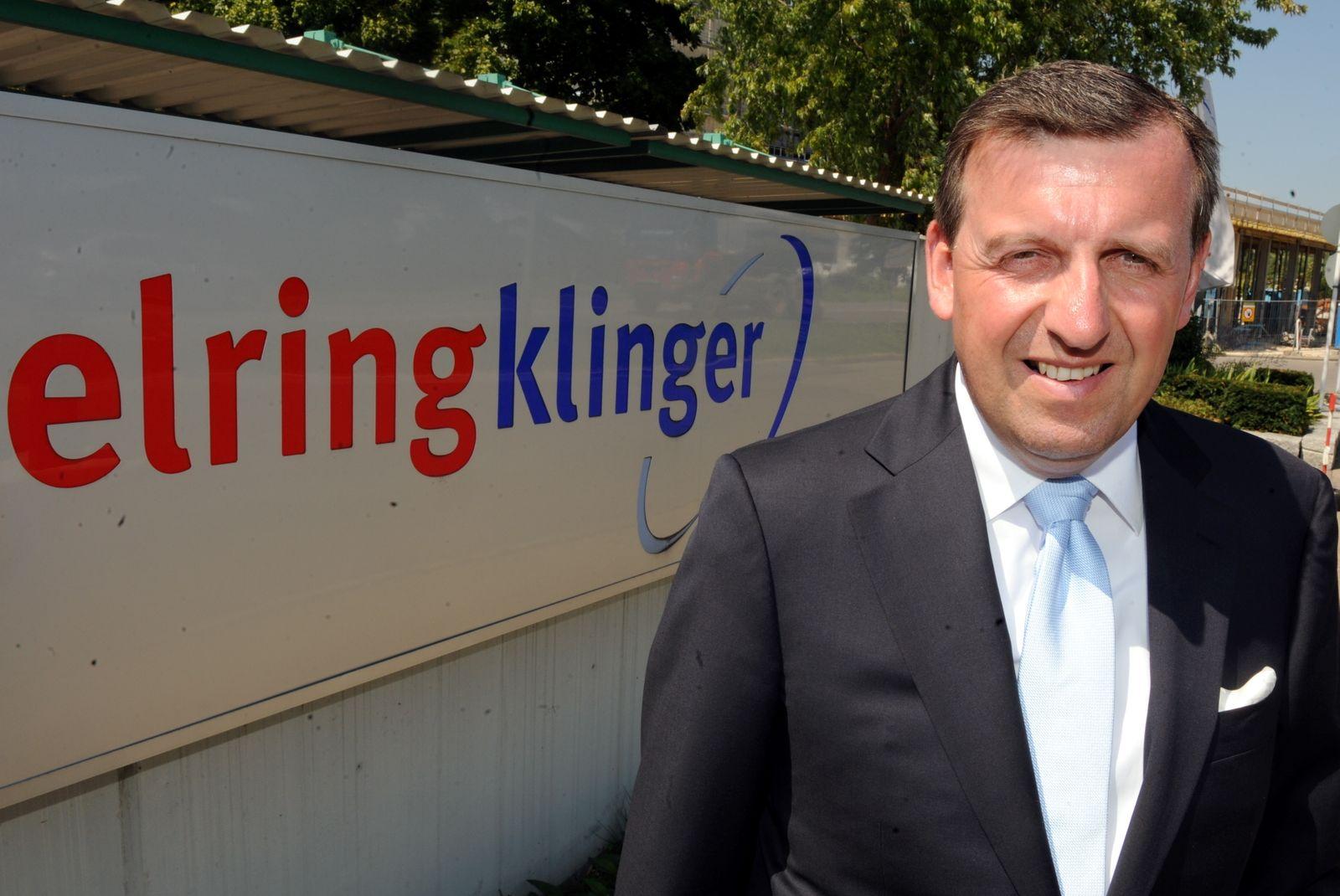 Stefan Wolf / ElringKlinger Logo