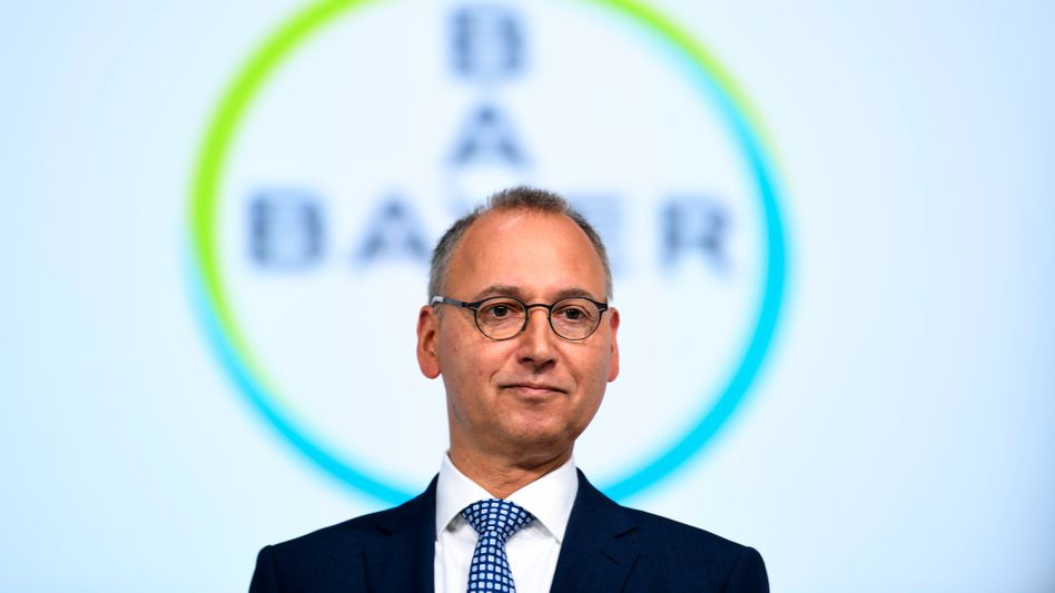"""Bayer-Chef Werner Baumann: """"Grundsätzlich in der Lage, Impfstoff in größeren Mengen zu produzieren"""""""