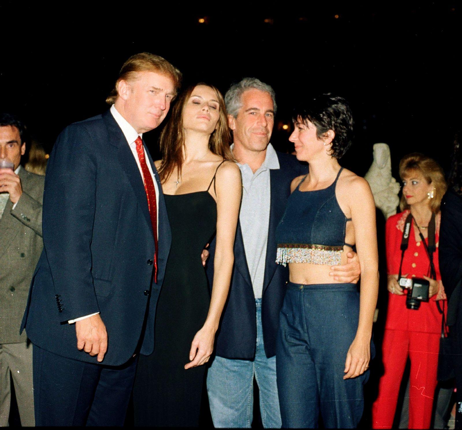 EINMALIGE VERWENDUNG Epstein/ Trump