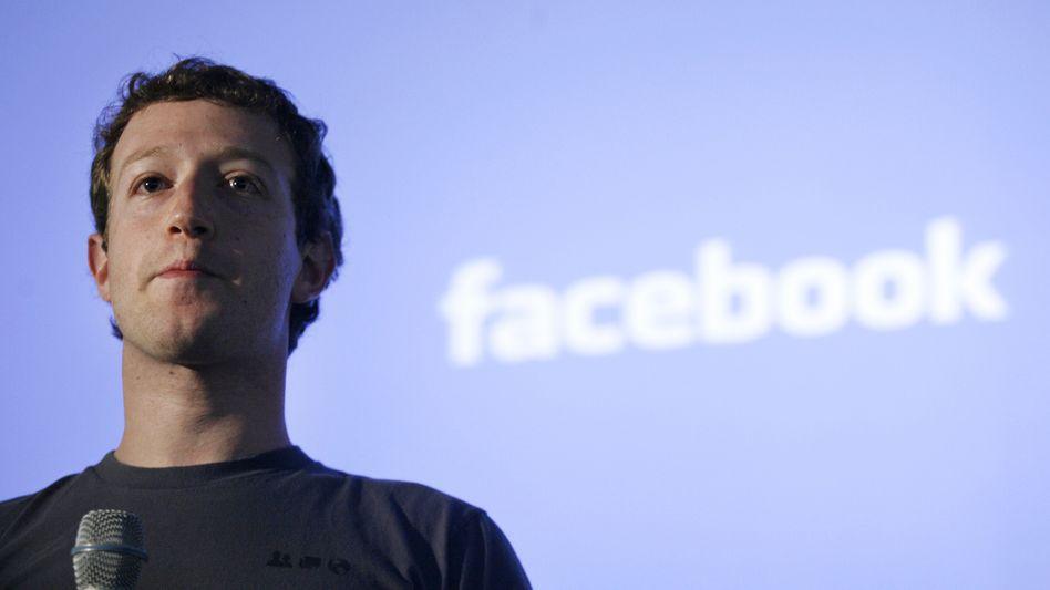 Facebook-Gründer Zuckerberg: In sieben Jahren zum Milliardär